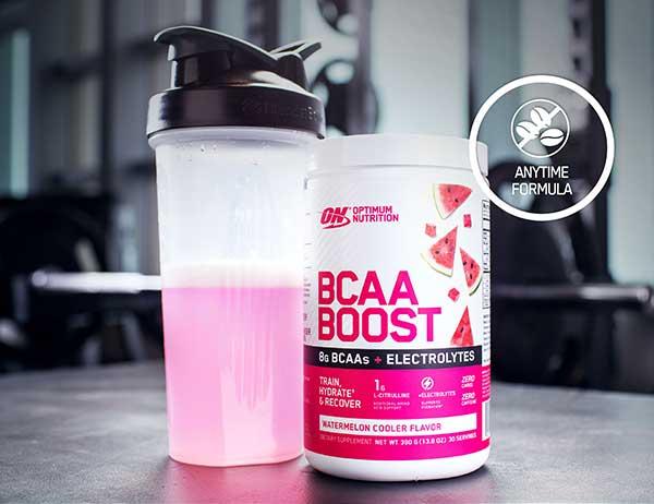 BCAA Boost Zero caffeine carbs & kcals