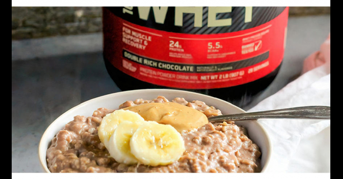 DOUBLE CHOCOLATE PROTEIN OATMEAL